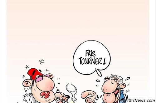 Maroc : caricature de Mohamed VI : «Fais Tourner» !