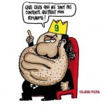 Dessin de presse : quand Ali Bongo prend le Gabon pour son royaume…