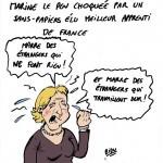 Dessin de presse Marine Le Pen