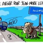Dessin de presse Jean-Marie Lepen