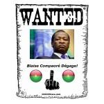 Blaise Compaoré Dégage!